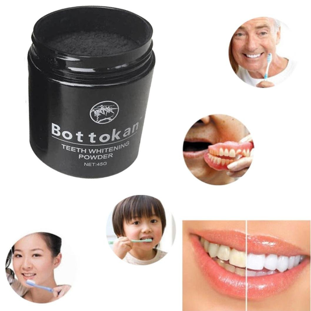 Sinwo Carbon Coco Organic Charcoal Teeth Whitening Powder Natural Tooth Polish Teeth Cleaning (A) by Sinwo (Image #3)