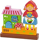 Viga Toys - 50075 - Puzzle Magnétique 3d - Le Petit Chaperon Rouge