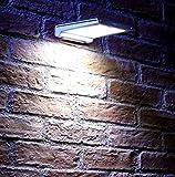 Auraglow Cordless Motion Activated PIR Sensor Outdoor Wireless Solar Power 48 LED Security Light
