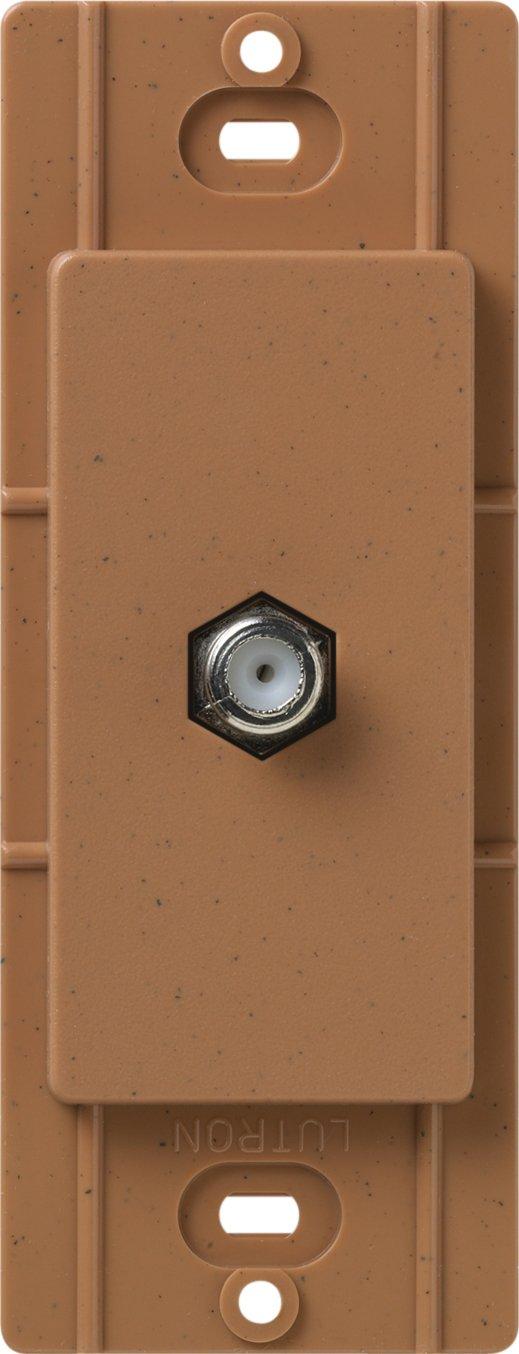 Lutron SC-CJ-TC Satin Colors Cable Jack, Terracotta