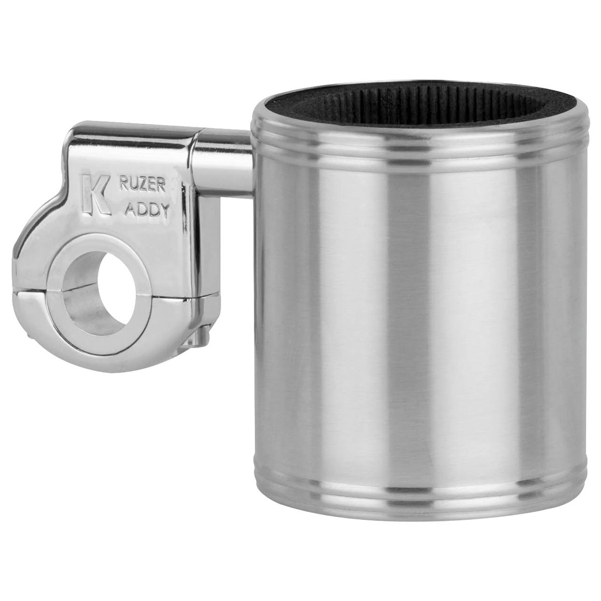 Motorcycle Cup Holder - Kruzer Kaddy Chrome Handlebar Mountable Cup Holder ae200ch C01003072
