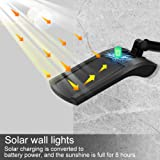 Solar Gutter Wall Lights Outdoor, Anmaker