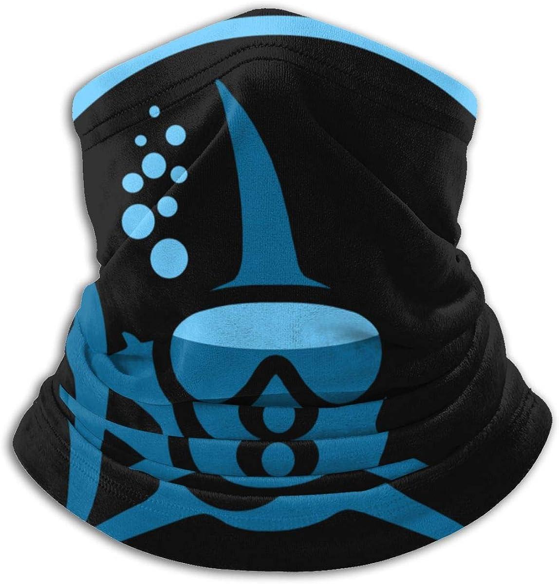 Fuck Skull Seamless Face Mask Bandanas, Multifunctional Neck Gaiter Shield Scarf for Outdoor, Sport