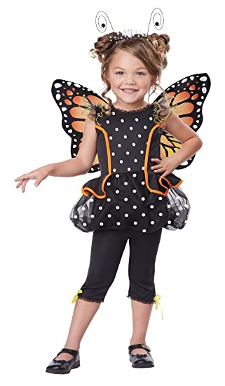 California Costumes Monarch Butterfly Costume One Color 4 6 Large
