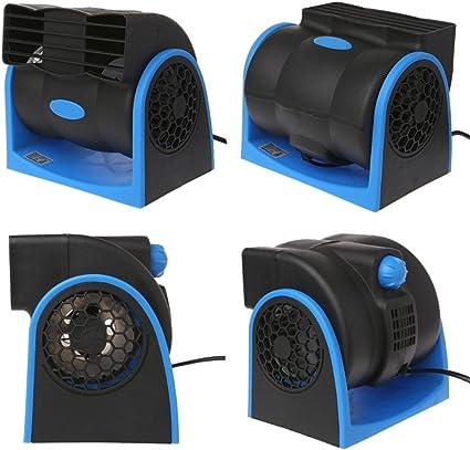Ventilador Coche Aire acondicionado del coche portátil Ventilador ...