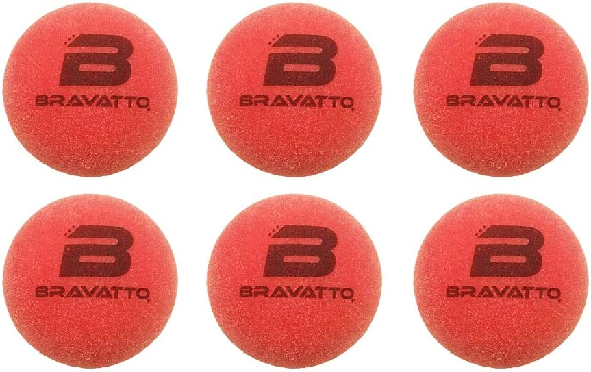 Official Regulation Size Just Like The Pros Use Bravatto Professional Foosball Balls: Tournament Quality Pack of 6 Foosball Balls Red