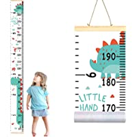 Growth Chart for Kids,Removable Height Ruler with Cute Dinosaur for Baby,Height Measurement Wall Decoration,80x8Inches