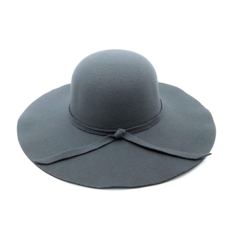Vintage Pure Womens Beach Sun Hat Female Waves Large Brim Lady Sun Hat,Khaki
