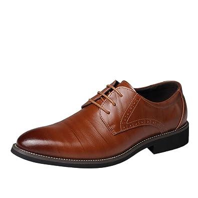 b2e0521edb1b1b LUCKDE Leder Schuhe Herren