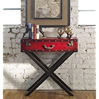 Red Console Table the Taggart Collection sofa-tables