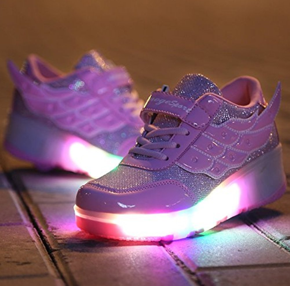 Ecotish Baskets Fille Enfants Sneakers Garçon Lumineuses Chaussures trdChQsx