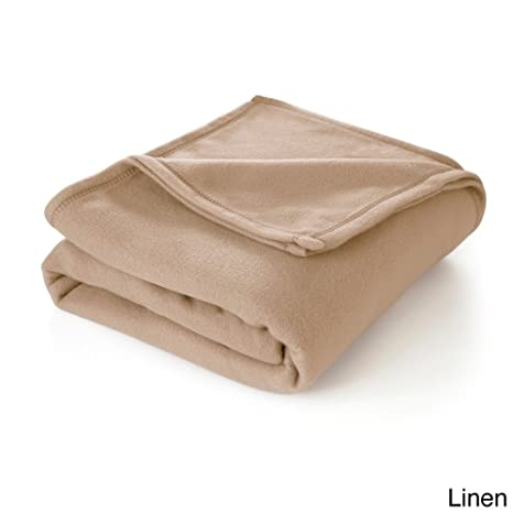 Amazon.com: MISC - Manta de forro polar color beige de lujo ...
