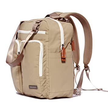 9e61f68eac4 Bebamour Diaper Bag Nappy Bags Backpack for Women men (khaki)  Amazon.ca   Baby