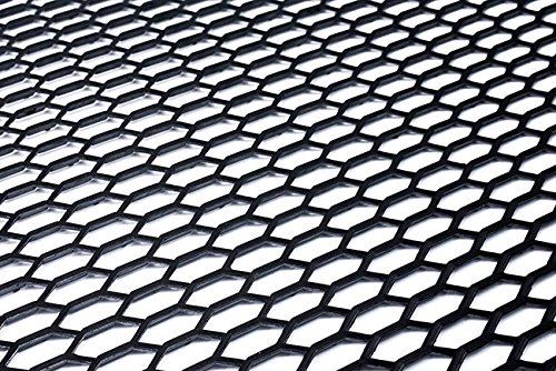 Universal Black ABS Plastic Racing Hex Mesh Honeycomb Grill Spoiler Bumper Vent