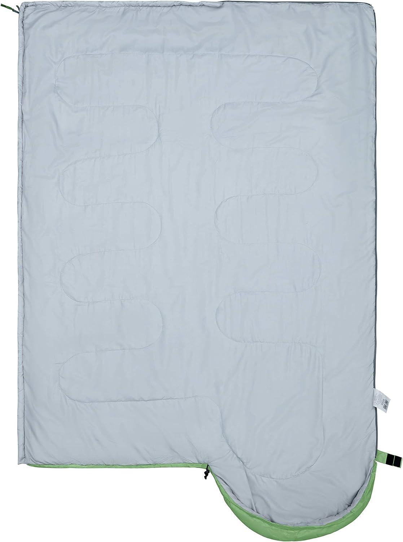 KingCamp Oasis 3-4 Saison Sac de Couchage Enfant Adulte Simple Grand Double Taille 6 Couleurs pour Camping /& Outdoor