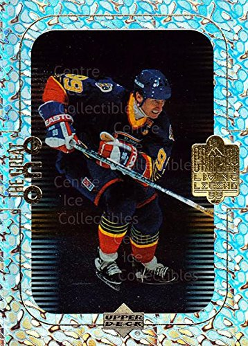 (CI) Wayne Gretzky Hockey Card 1999 Wayne Gretzky Living Legend The Great One 7 Wayne ()
