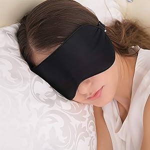 JEFlex Natural Silk Sleep Mask Blindfold, Super-Smooth Eye Mask sleep masks - 61jXwO5z3jL - Sleep masks for women – 5 best sleep masks for women on the market