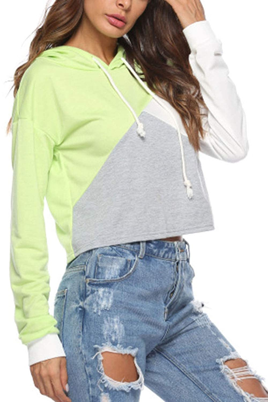 Nimpansa Women Hoodies Sweatshirts Drawstring Long Sleeve Pullover Daily