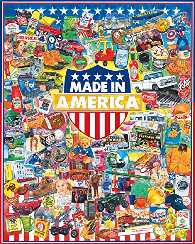 White Mountain Puzzles Made In America - 1000 Piece Jigsaw - White Mountain Outlet