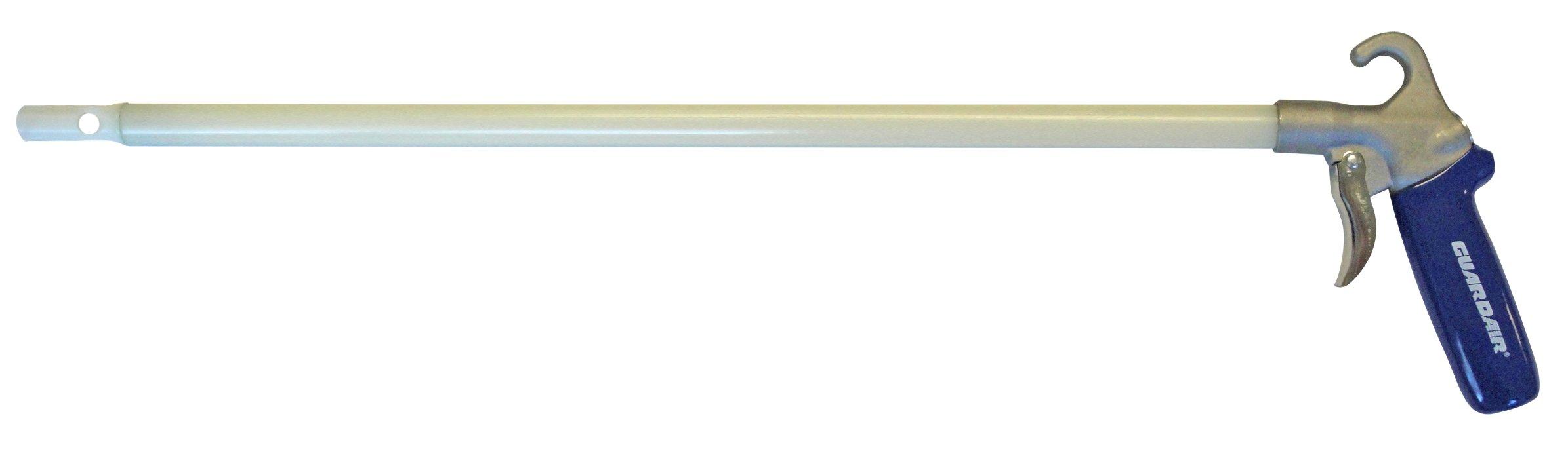 Guardair 75LJ024NN Long John Non-Conductive Safety Air Gun with 24-Inch Nylon Extension and Nylon Nozzle