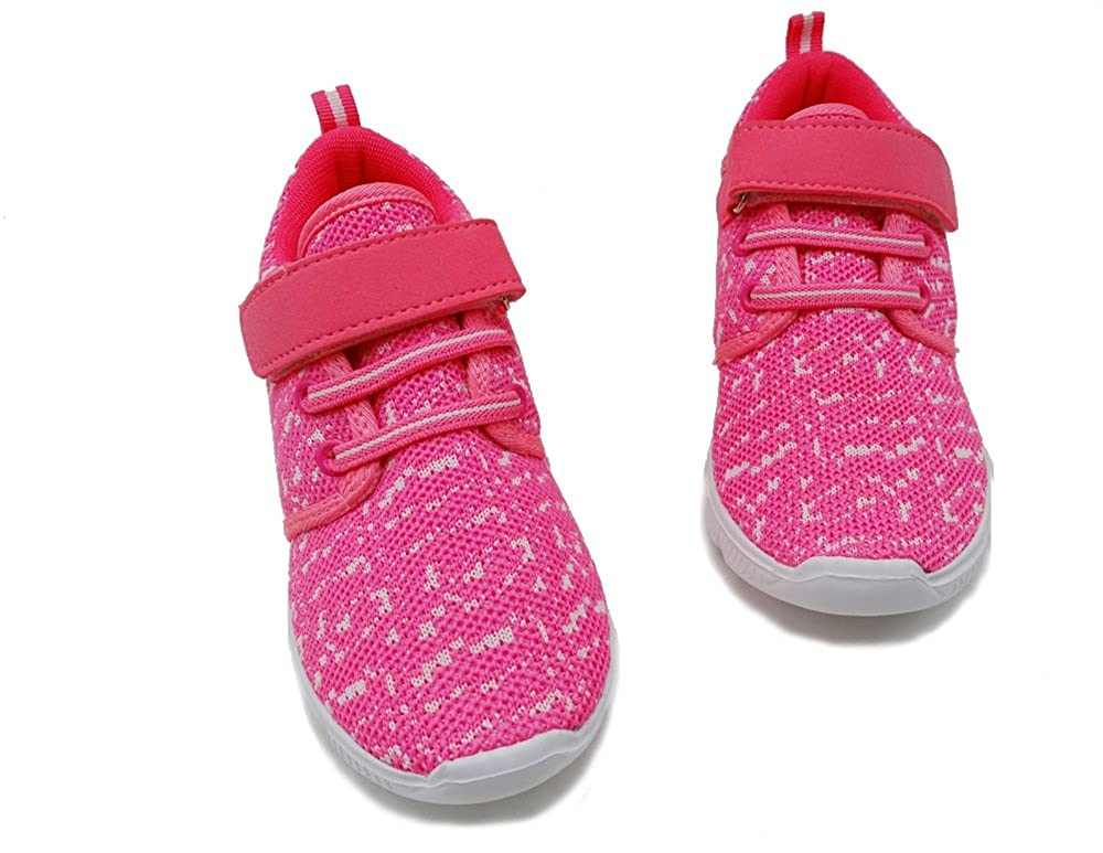 ICEFACE Lightweight Running Sneaker for Girls and Boys with Breathable Mesh Upper.