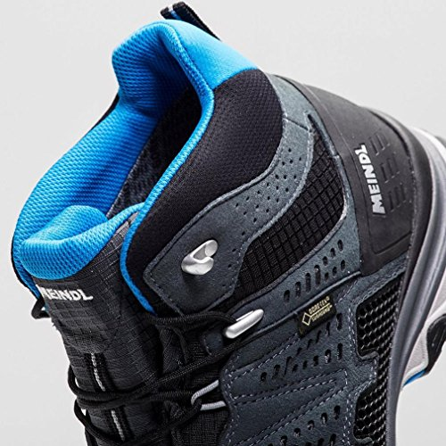 Meindl Schuhe X-SO 70 Mid GTX Surround Men - anthrazit/blau 44