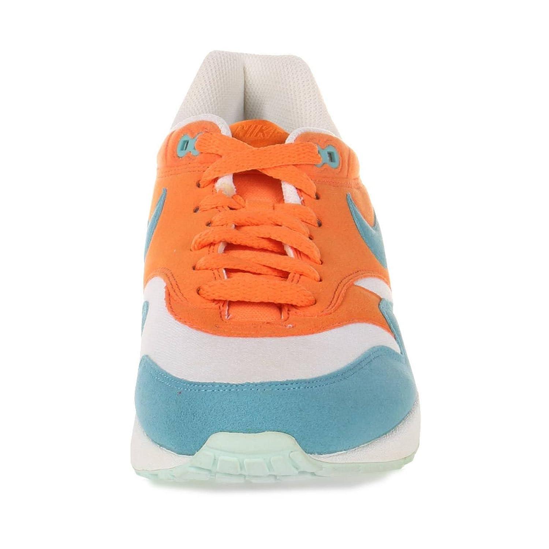 Nike Air Max 1 Herren, Orange (Bright Mandarin Mineral Blau), 41 ... Elegant