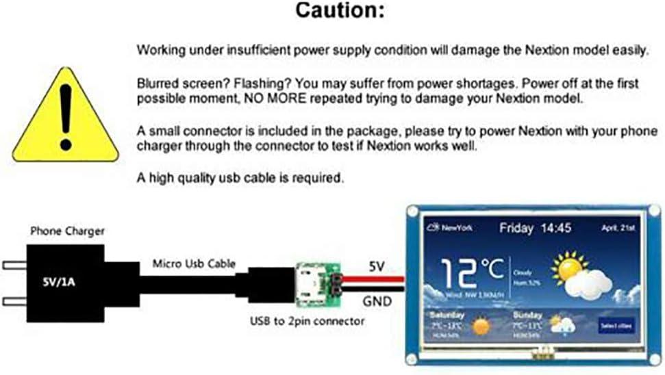 B et Raspberry Pi 2 4,3 HMI 320x240 NX4827T043 Module daffichage LCD Tactile pour Raspberry Pi A
