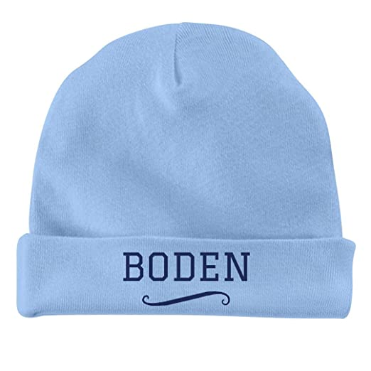 Amazon.com  FUNNYSHIRTS.ORG Cute Baby Boy Boden  Infant Baby Hat ... 74a1b379e42