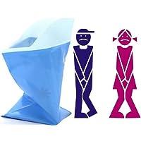tobe-u Unisex Herren Damen Kinder Brief Relief Einweg Urinal Taschen Super Saugfähig Packungen für Reisen Auto Traffic Jam Camping 4-teilig