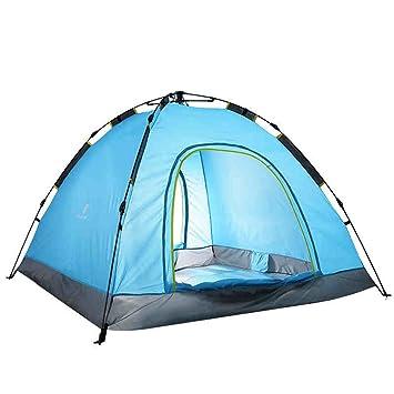 LFFTENT HJHY Tienda de Campaña, Cuerda de Tracción Rápida Toma de Lluvia Sombra Camping automático