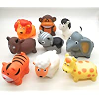 Forever Kidzz Animal Figure chu chu Baby Bath Toys for Kids/Baby/Toddler Pack of 9 pcs