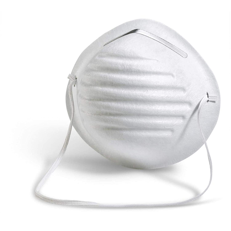 10 máscaras desechables para polvo y filtro de comodidad no tóxica, juego de 10 máscaras.