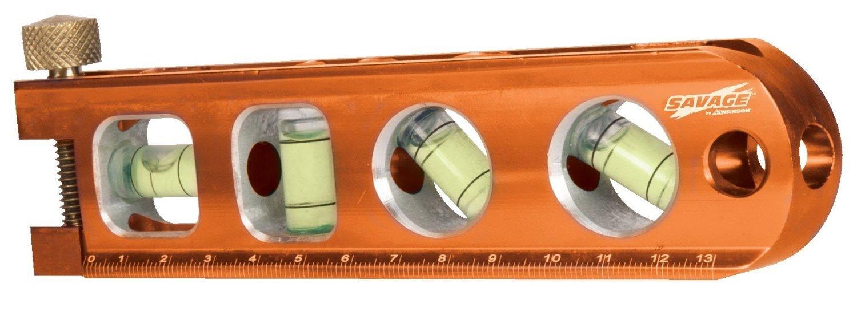 Swanson Tool TL041M 2 Pack 6in. Heavy-duty Magnetic Torpedo Level, Orange