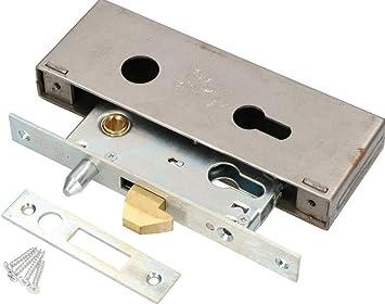 KOTARBAU® – Cerradura de gancho para puerta corredera 72/40 – Cerradura para puerta corredera – Cerradura de gancho para puerta de entrada: Amazon.es: Bricolaje y herramientas