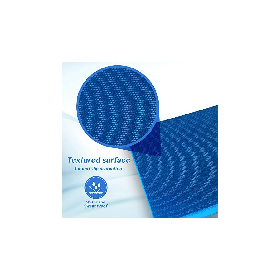 Physical Therapists Recommended Foam Balance Pad FREE Stretching Strap & BONUS eBook | Balance Pads for PT Rehab & Ankle Recovery, Lower Back/Knee Pain | Wobble Board Cushion for Strength