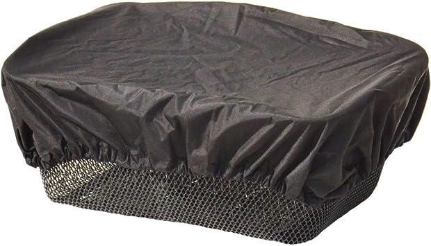 Trockolino - Funda impermeable para cesta de bicicleta, color negro ...