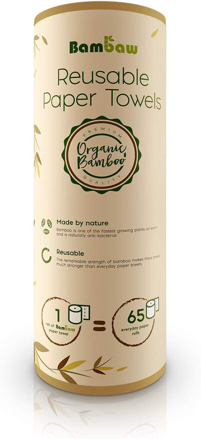 Paños reutilizables | Rollo de cocina ecológico | Multiusos ...