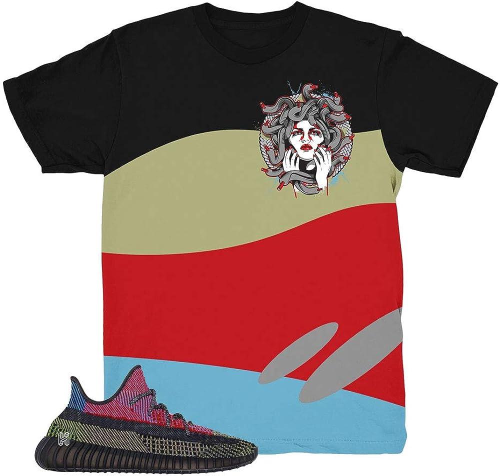 Yeezy 350 Yecheil Wave Medusa Shirt to