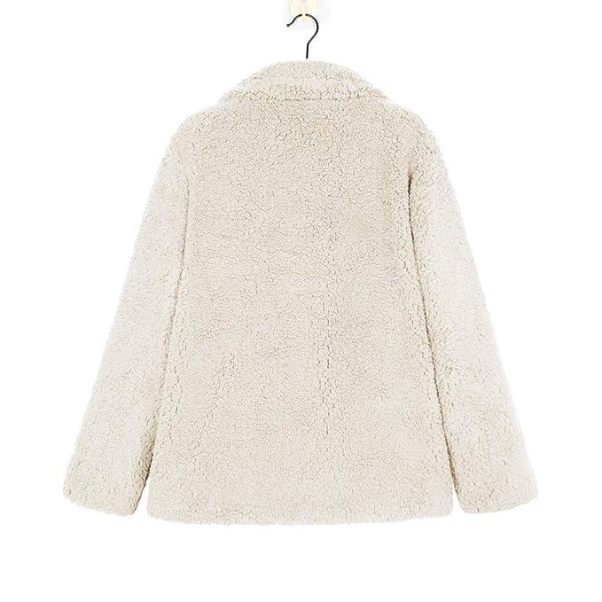 Luckycat Chaqueta Casual de Las Mujeres de Invierno Parka Outwear Ladies Coat Overcoat Outercoat: Amazon.es: Ropa y accesorios