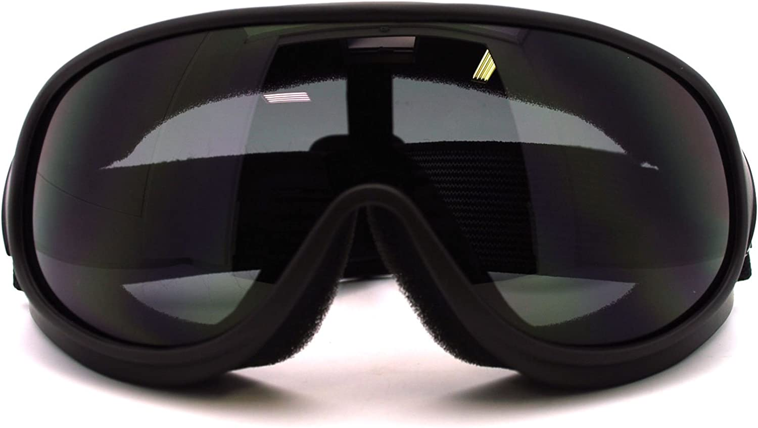 New Retro Cafe Racer Style Narrow Shatter Proof Anti Fog Lens Goggle