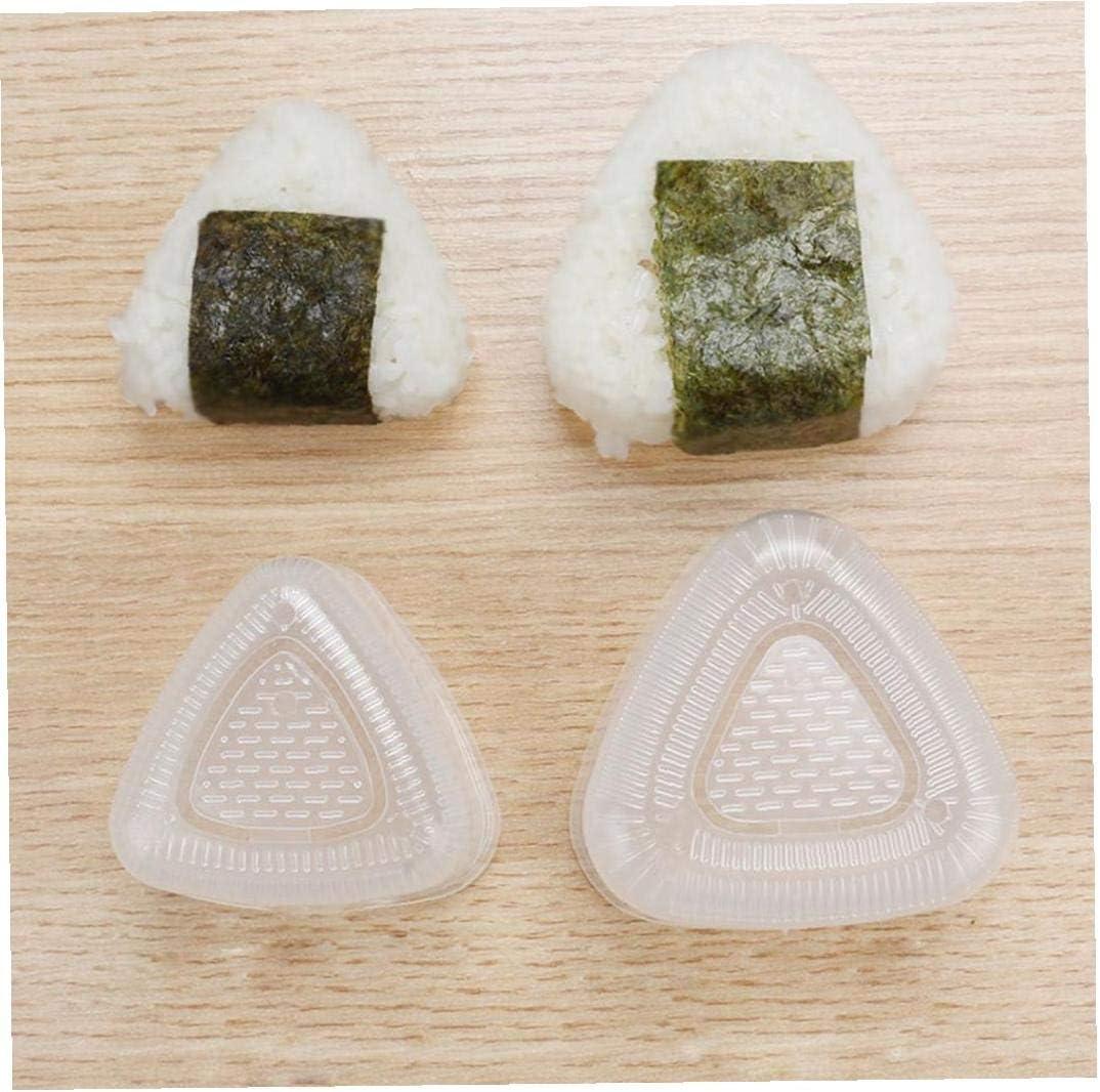 2 PCS Sushi Moisissures Triangular Onigiri Riz Moule Outils Costume DIY Making Onigiri Maker Bento Presses De Qualit/é Alimentaire PP Accessoires De Cuisine