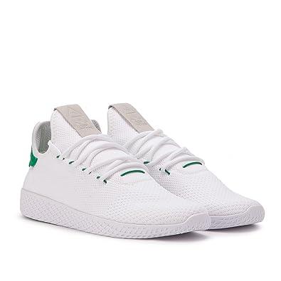 adidas Men's PW Tennis HU White/Green BA7828 (SIZE: ...
