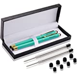 iDream365 Universal Touch Screen Pen for All Touch Screen Tablets,Cell Phones-2Pack Peacock Green/Gold
