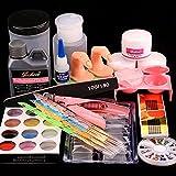 Best Acrylic Liquids - Baisidai Acrylic Liquid Powder Half French Nail Art Review