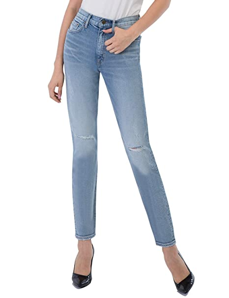 Amazon.com: D-ID Jeans 257 - Pantalones vaqueros para mujer ...