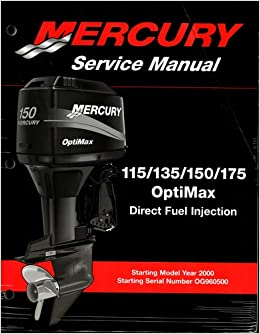 Mercury Service Manual 115 135 150 175 175 Pro Xs 2 5 border=