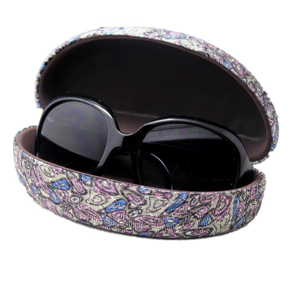 Luxus donna occhiali custodia rigida in legno per occhiali da sole occhiali da lettura per esterni