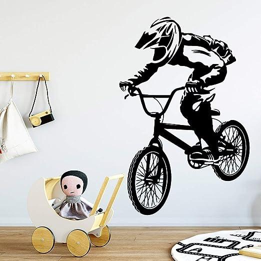 yaonuli Hermosa Etiqueta de la Pared de la Bicicleta Sala de Estar ...