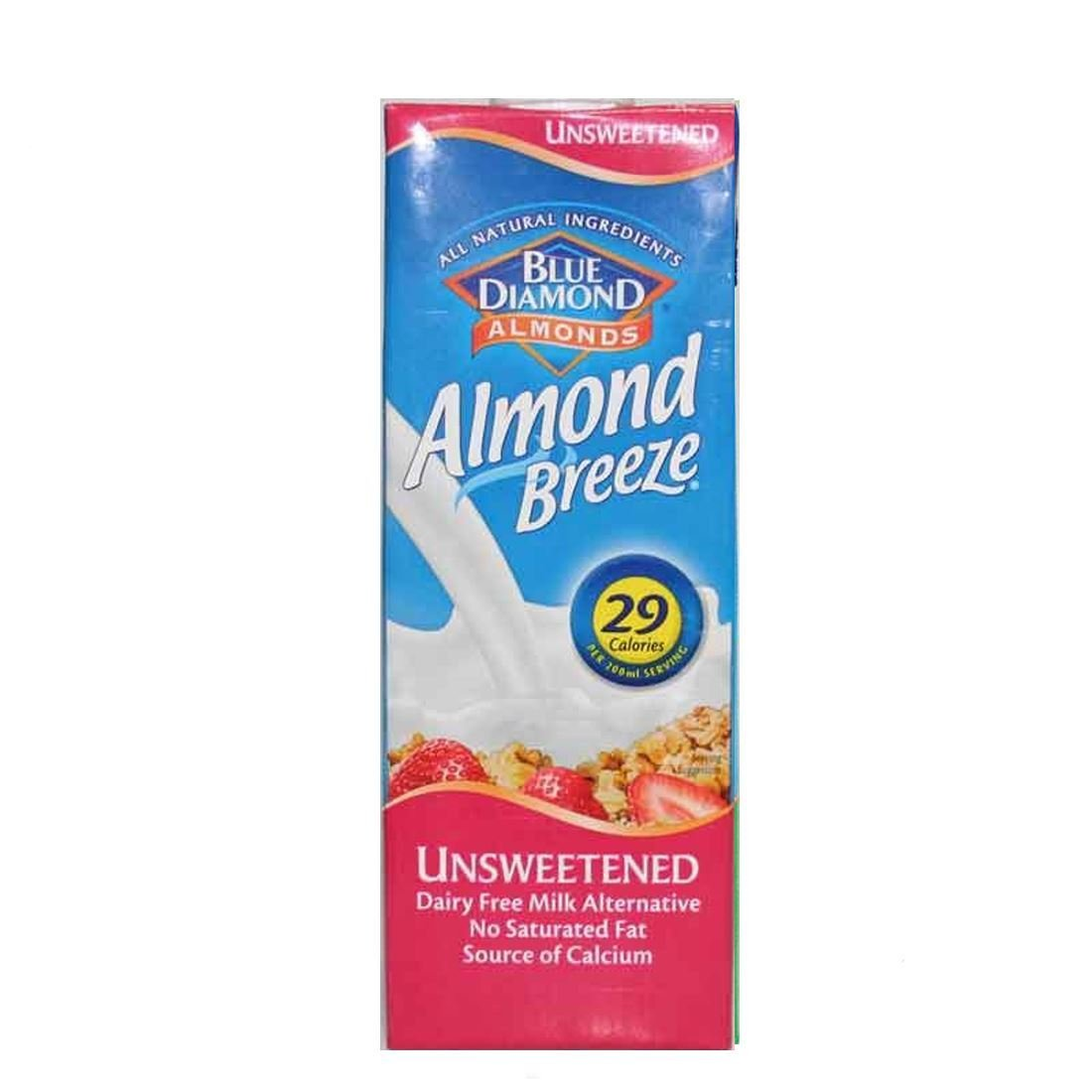 Blue Diamond | Almond Breeze - Unsweetened | 8 x 1L: Amazon.es: Alimentación y bebidas